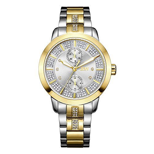 高級腕時計 レディース J6341B JBW Luxury Women's Lumen Diamond & Swarovski Crystal Wrist Watch with Stainless Steel Bracelet高級腕時計 レディース J6341B