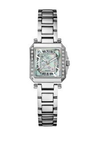 【当店1年保証】ゲスGuessCollectionA51103L1Women'sStainlessSteel20DiamondMotherofPearlWatch