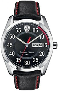 フェラーリ腕時計メンズScuderiaFerrari0830173MensD50BlackWatchフェラーリ腕時計メンズ