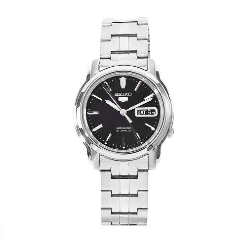 セイコー 腕時計 メンズ SNKK71 Seiko Men's SNKK71 5 Stainless Steel Black Dial Watchセイコー 腕時計 メンズ SNKK71
