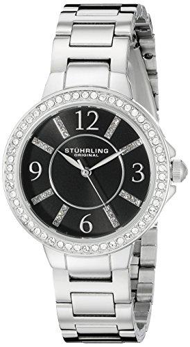 ストゥーリングオリジナル 腕時計 レディース 480.02 Stuhrling Original Women's 480.02 Allure Analog Display Quartz Silver Watchストゥーリングオリジナル 腕時計 レディース 480.02