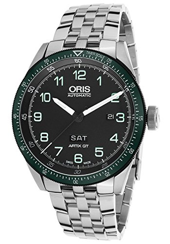 オリス 腕時計 メンズ ORIS-73577064494MB Oris Calobra Day Date Automatic Movement Black? Dial Men's Watch 73577064494MBオリス 腕時計 メンズ ORIS-73577064494MB