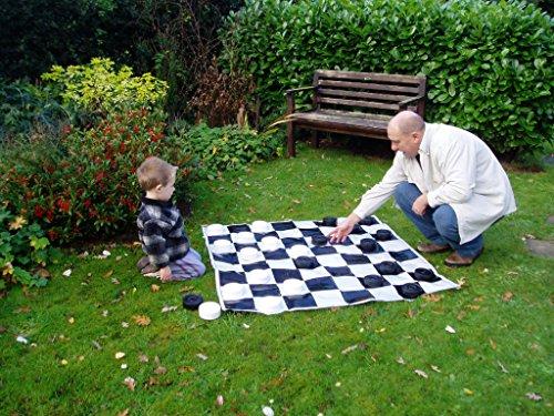 ボードゲーム 英語 アメリカ 海外ゲーム Garden Games JUMBO Checkers | 4ft x 4ft Matボードゲーム 英語 アメリカ 海外ゲーム