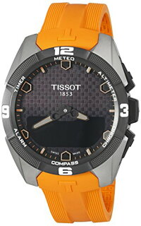 【当店1年保証】ティソTissotMen'sSwissQuartzTitaniumCasualWatch(Model:T0914204705101)