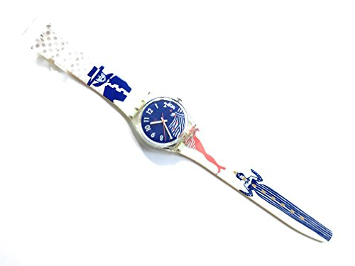 【当店1年保証】スウォッチ1992 Swatch Watch Gruau GK147 Designed By Rene Gruau.