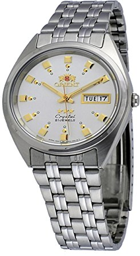 オリエント 腕時計 メンズ FAB00009W Orient #FAB00009W Men's 3 Star Stainless Steel Silver Dial Self Wind Automatic Watchオリエント 腕時計 メンズ FAB00009W
