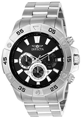インヴィクタ インビクタ プロダイバー 腕時計 メンズ 22786 Invicta Men's Pro Diver Quartz Watch with Stainless-Steel Strap, Silver, 24 (Model: 22786インヴィクタ インビクタ プロダイバー 腕時計 メンズ 22786