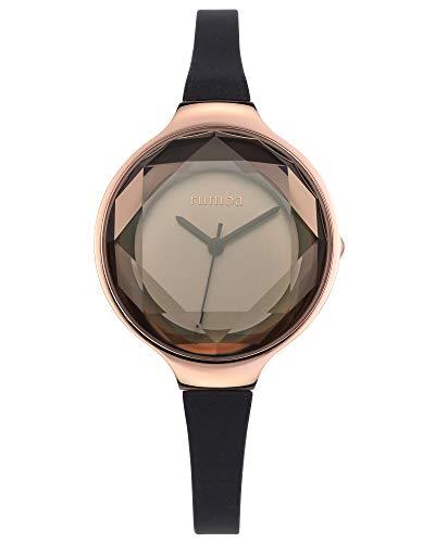 ルンバタイム 腕時計 レディース 817466015628 RumbaTime Women's 15628 Orchard Gem Mini Rose Gold 30mm Black Diamond Watchルンバタイム 腕時計 レディース 817466015628