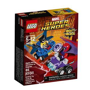 レゴ スーパーヒーローズ マーベル DCコミックス スーパーヒーローガールズ 6175485 【送料無料】LEGO Super Heroes Mighty Micros: Wolverine Vs. Magneto 76073 Building Kitレゴ スーパーヒーローズ マーベル DCコミックス スーパーヒーローガールズ 6175485