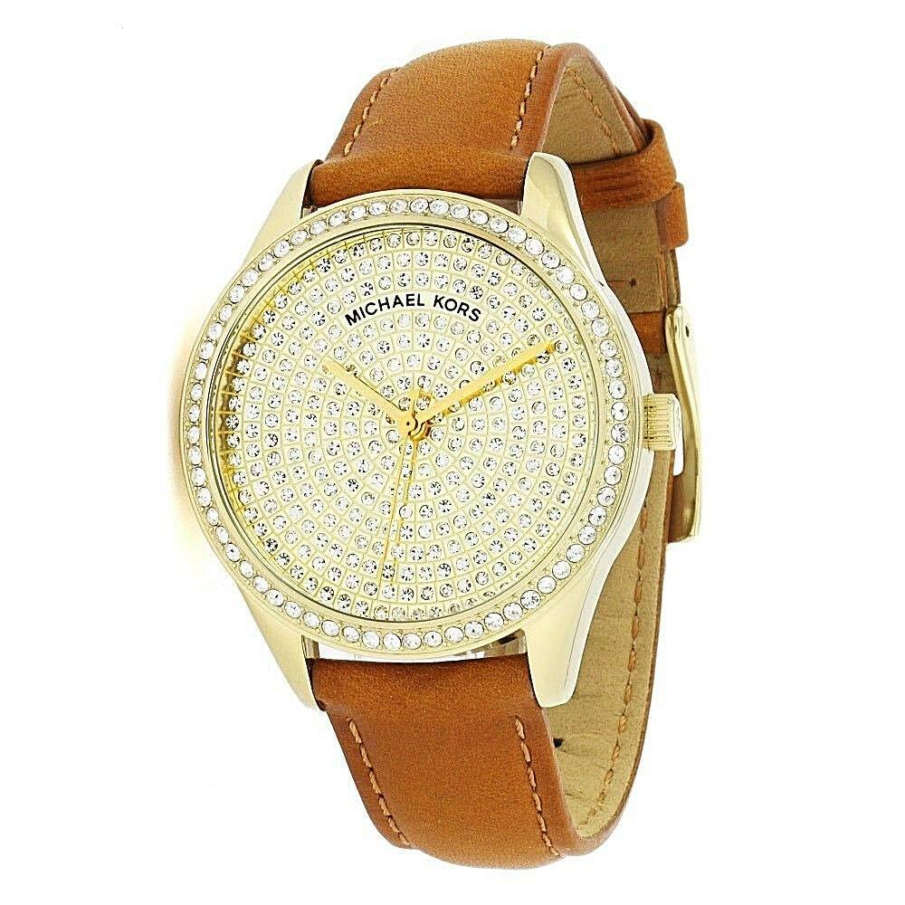 【当店1年保証】マイケルコース Michael Kors レディース腕時計 MK2648 ニニ ブラウンレザー スリーハンドウォッチ