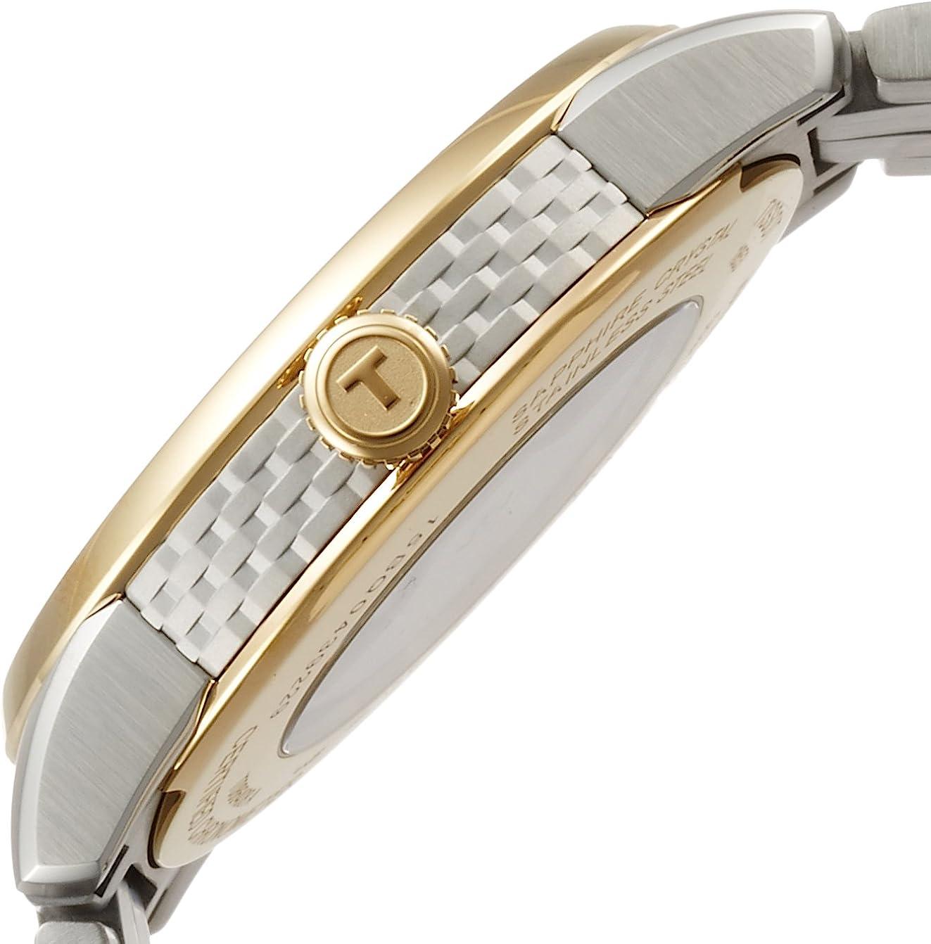 ティソ 腕時計 メンズ T0864082203600 Tissot Luxury Automatic Diamond Silver Dial Two-Tone Stainless Steel Mens Watch T0864082203600ティソ 腕時計 メンズ T0864082203600