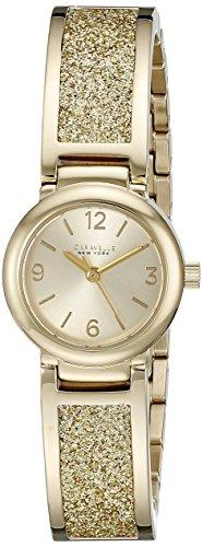 【当店1年保証】ブローバCaravelle New York Women's 44L164 Gold-Tone Stainless Steel Watch