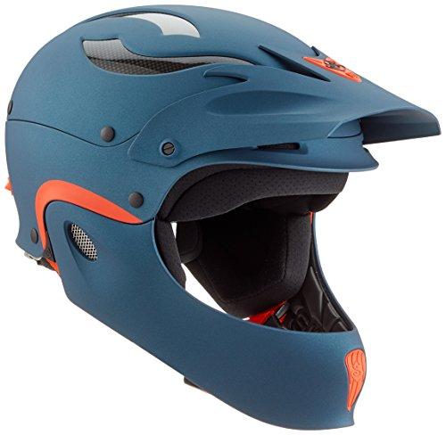 ウォーターヘルメット 安全 マリンスポーツ サーフィン ウェイクボード 845027 Sweet Protection Rocker Fullface Paddle Helmet, Navy Blue Metallic, Medium/Largeウォーターヘルメット 安全 マリンスポーツ サーフィン ウェイクボード 845027