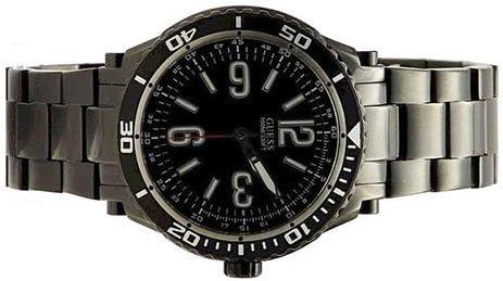 ゲス GUESS 腕時計 メンズ U0043G2 GUESS Men's U0043G2 Black Ionic-Plated Racing Sport Watchゲス GUESS 腕時計 メンズ U0043G2