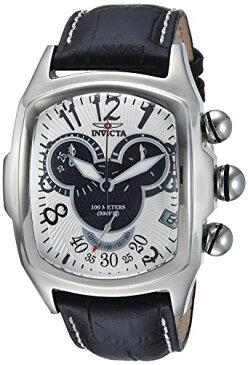 インヴィクタ インビクタ 腕時計 メンズ ディズニー 24522 【送料無料】Invicta Men's Disney Limited Edition Stainless Steel Quartz Watch with Leather Calfskin Strap, Black, 28 (Model: 24522)インヴィクタ インビクタ 腕時計 メンズ ディズニー 24522