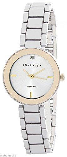 アンクライン 腕時計 レディース Anne Klein Women's Silver Tone Dial Metal Bracelet Watch AK/2119SVTTアンクライン 腕時計 レディース
