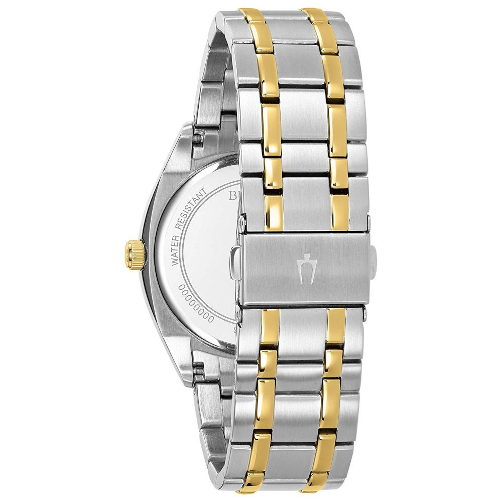 ブローバ 腕時計 メンズ 98C127 Bulova Men's Classic Quartz Watch with Stainless-Steel Strap, Two Tone, 22 (Model: 98C127ブローバ 腕時計 メンズ 98C127