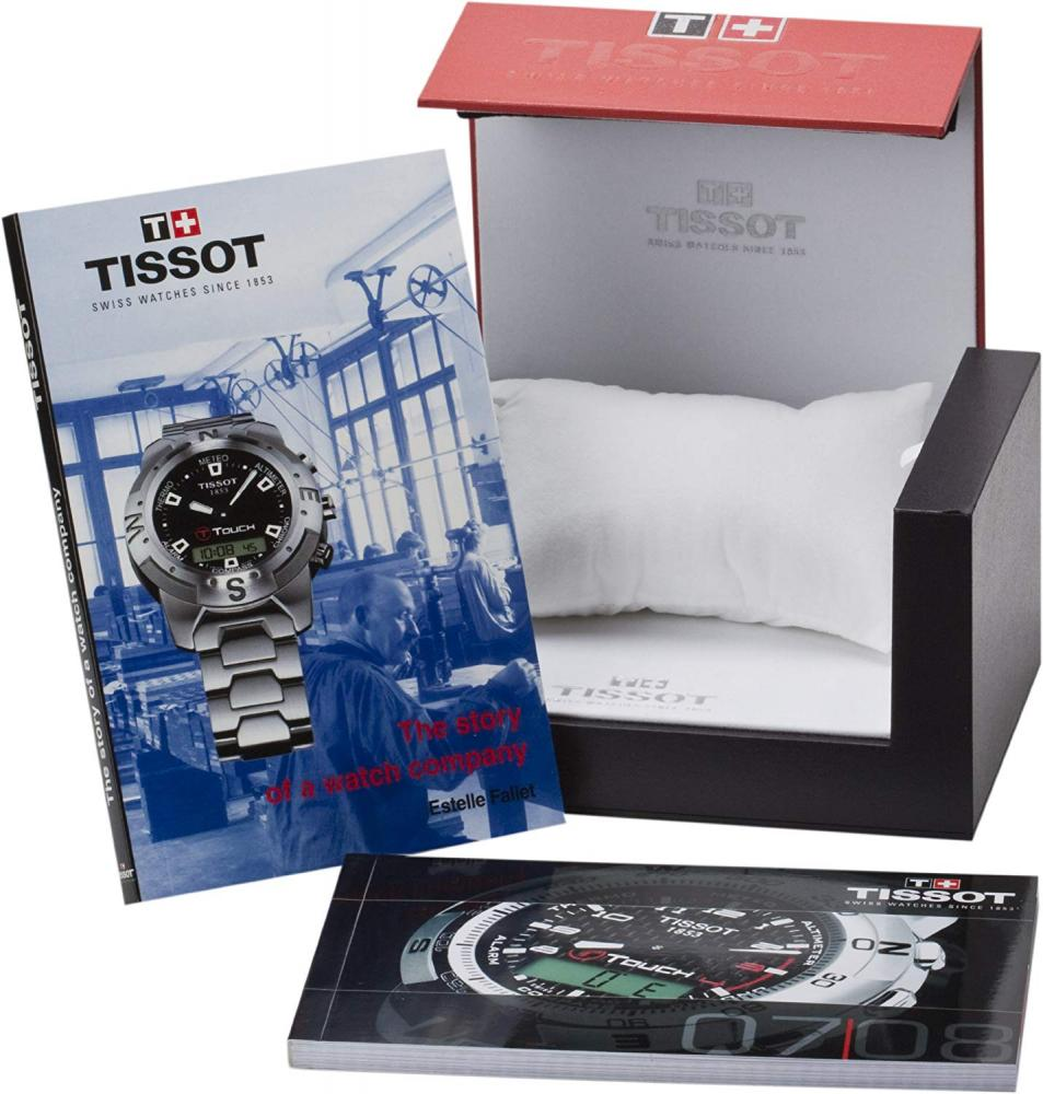 ティソ 腕時計 メンズ T0134204405700 Tissot Men's T0134204405700 T-Touch Expert Pilot Black Touch Analog-Digital Dial Watchティソ 腕時計 メンズ T0134204405700
