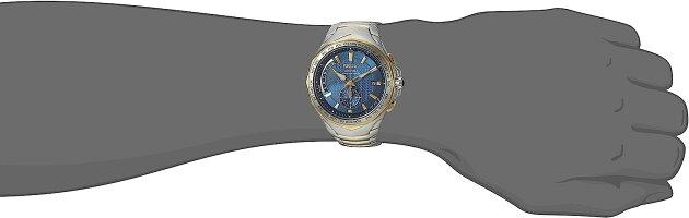 セイコー腕時計メンズSSG020SeikoMen's'COUTURA'QuartzStainlessSteelCasualWatch,Color:TwoTone(Model:SSG020)セイコー腕時計メンズSSG020