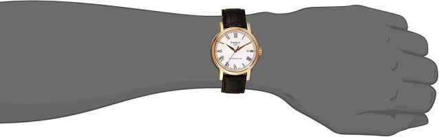 ティソ腕時計メンズT0854073601300TissotMen'sT0854073601300CarsonAnalogDisplaySwissAutomaticBrownWatchティソ腕時計メンズT0854073601300