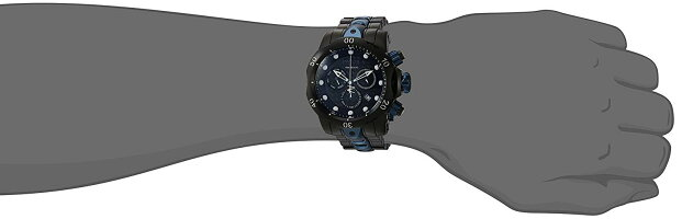 【当店1年保証】インヴィクタInvictaMen's'Reserve'QuartzStainlessSteelCasualWatch,Color:Black(Model:25062)