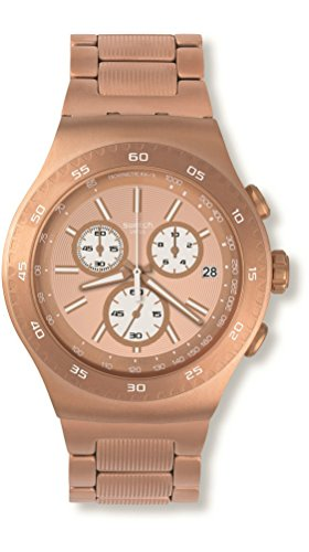 スウォッチ 腕時計 メンズ YOG408G Swatch Men's YOG408G Rosalona Analog Display Quartz Rose Gold Watchスウォッチ 腕時計 メンズ YOG408G