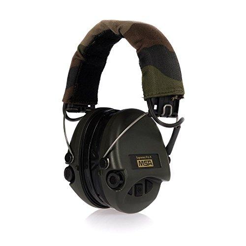 オーディオ, ヘッドホン・イヤホン  SOR 75302-X-G MSA Sordin 75302-X-G Supreme Pro X Electronic Earmuff with Camo Headband Green Cups and Fitted Gel Sea SOR 75302-X-G