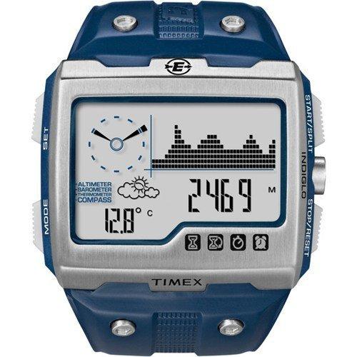 タイメックス 腕時計 メンズ T49760W4 Timex Expedition WS4 Blue Strap, Silver/Blue Faceタイメックス 腕時計 メンズ T49760W4