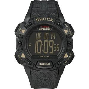 タイメックス 腕時計 メンズ TW4B12600 【送料無料】Timex Men's TW4B12600 Expedition Base Shock Black/Gray Resin Strap Watchタイメックス 腕時計 メンズ TW4B12600