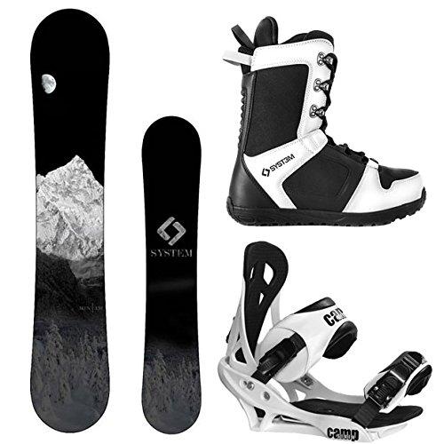 スノーボード ウィンタースポーツ キャンプセブン 2017年モデル2018年モデル多数 System MTN and Summit Complete Mens Snowboard Package (159 cm, Boot Size 11)スノーボード ウィンタースポーツ キャンプセブン 2017年モデル2018年モデル多数