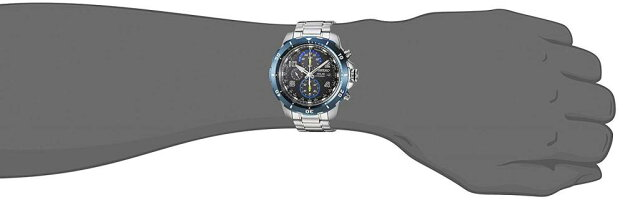 セイコー腕時計メンズSSC637SeikoMen's'CHRONOGRAPH'QuartzStainlessSteelCasualWatch,Color:Silver-Toned(Model:SSC637)セイコー腕時計メンズSSC637