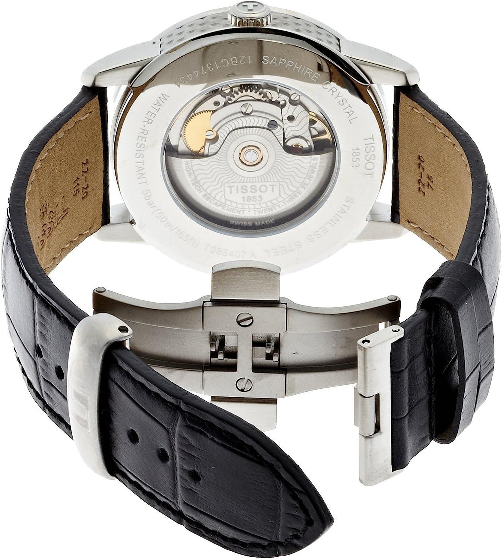 ティソ 腕時計 メンズ T0864071605100 Tissot Men's T0864071605100 Luxury Analog Display Swiss Automatic Black Watchティソ 腕時計 メンズ T0864071605100