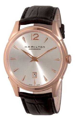 ハミルトン 腕時計 メンズ 夏のボーナス特集 H38645755 Hamilton Men's H38645755 Jazzmaster Slim Silver Dial Watchハミルトン 腕時計 メンズ 夏のボーナス特集 H38645755
