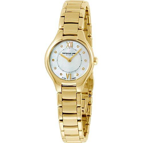 レイモンドウィル 腕時計 レディース スイスの高級腕時計 Noemia Raymond Weil Noemia MOP Dial Gold-Tone SS Quartz Ladies Watch 5124-P-00985レイモンドウィル 腕時計 レディース スイスの高級腕時計 Noemia