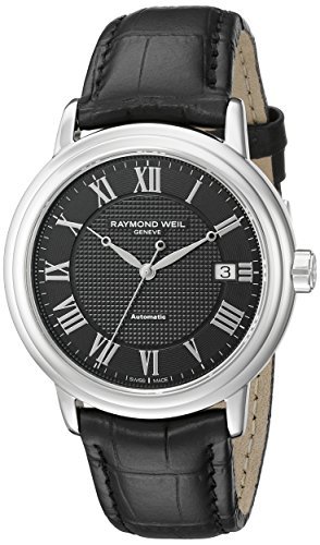 レイモンドウィル 腕時計 メンズ スイスの高級腕時計 2837-STC-00208 Raymond Weil Men's 2837-STC-00208 Stainless Steel Watch with Black Bandレイモンドウィル 腕時計 メンズ スイスの高級腕時計 2837-STC-00208