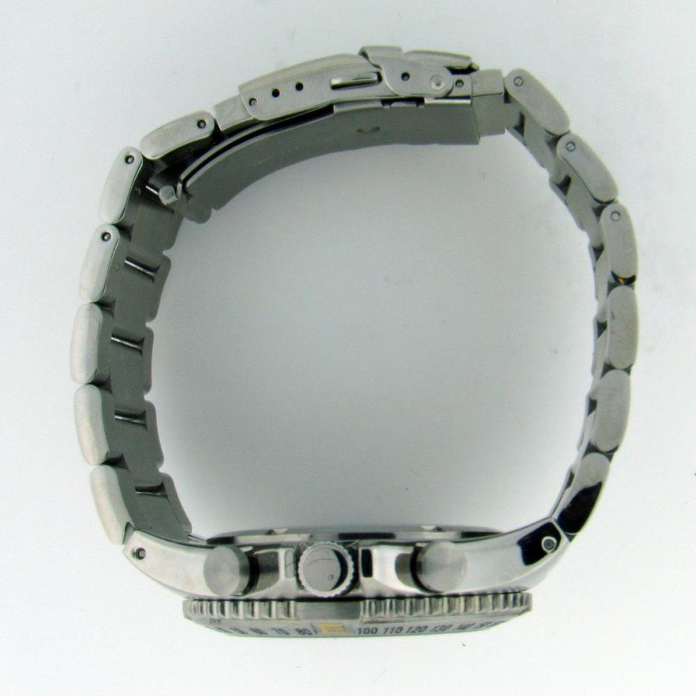 アディーケイ 腕時計 メンズ アメリカ LA Adee Kaye AK4001-7MB Men's All Stainless Steel Chronograph Watch Blue AK4001アディーケイ 腕時計 メンズ アメリカ LA