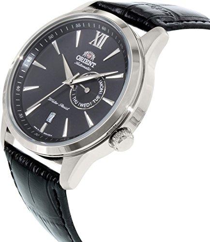 オリエント 腕時計 メンズ ES00005B Orient Men's ES00005B Black Leather Automatic Watchオリエント 腕時計 メンズ ES00005B
