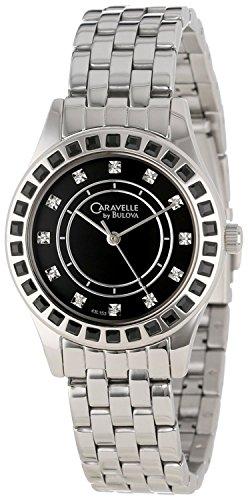 【当店1年保証】ブローバCaravelle by Bulova Women's 43L153  Crystal Bracelet Watch