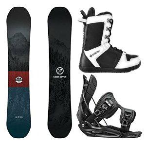 スノーボード ウィンタースポーツ キャンプセブン 2017年モデル2018年モデル多数 Camp Seven Package Redwood Snowboard-153 cm-Flow Alpha MTN XL-System APX Snowboard Boots 13スノーボード ウィンタースポーツ キャン
