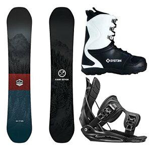 スノーボード ウィンタースポーツ キャンプセブン 2017年モデル2018年モデル多数 Camp Seven Package Redwood Snowboard-160 cm-Flow Alpha MTN Medium-System APX Snowboard Boots 8スノーボード ウィンタースポーツ キャ
