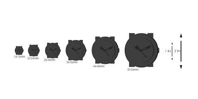 【当店1年保証】ベスタルVestalQuartzStainlessSteelandLeatherDressWatch,Color:Black(Model:CNT453L02.BKWH)
