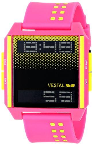 ベスタル ヴェスタル 腕時計 メンズ DIG030 Vestal Men's DIG030 Digichord Digital Display Japanese Quartz Pink Watchベスタル ヴェスタル 腕時計 メンズ DIG030