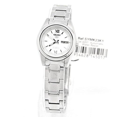 セイコー 腕時計 レディース SYMK23K Seiko 5 #SYMK23K1 Women's Silver Dial Self Winding Automatic Watchセイコー 腕時計 レディース SYMK23K