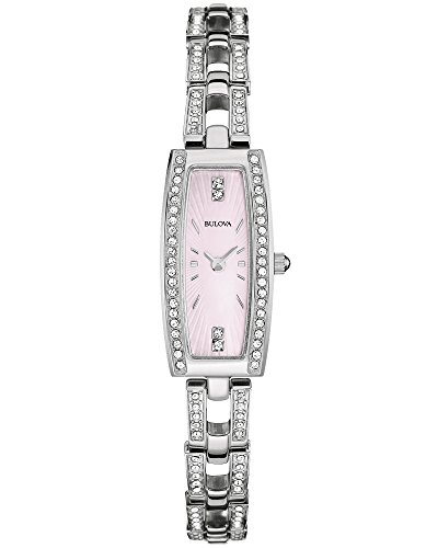 【当店1年保証】ブローバBulova Women's 96L208XG Quartz Pink Mother of Pearl Dial Watch (Certified Refurbished)