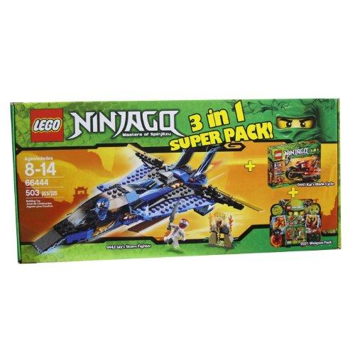 レゴ ニンジャゴー 66444 Lego Ninjago 66444 Masters of Spinjitzu 3 in 1 Super Pack contains 9442, 9441 and 9591レゴ ニンジャゴー 66444