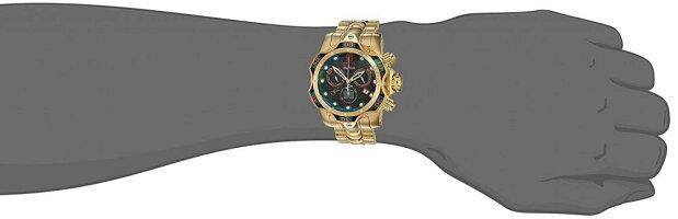 インヴィクタインビクタリザーブ腕時計メンズ25304InvictaMen's'JT'QuartzStainlessSteelCasualWatch,Color:Gold-Toned(Model:25304)インヴィクタインビクタリザーブ腕時計メンズ25304