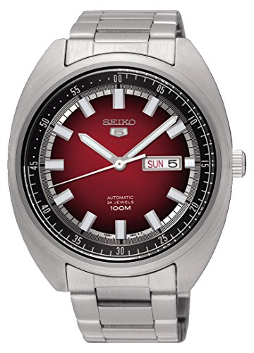 【当店1年保証】セイコーSEIKO 5 'Turtle' Sports 100M Watch Red Gradation Dial SRPB17K1
