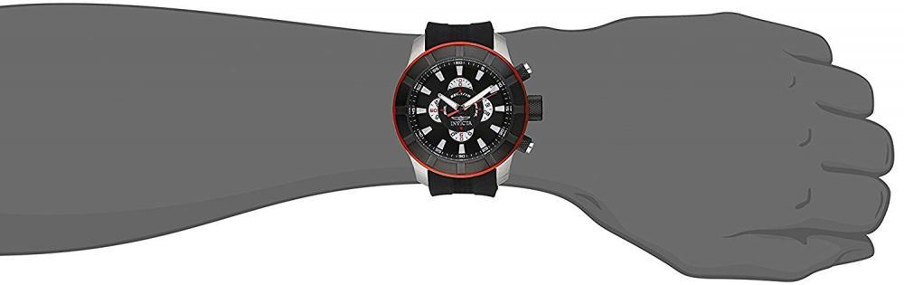 【当店1年保証】インヴィクタInvicta Men's 18610 S1 Rally Analog Display Japanese Quartz Black Watch