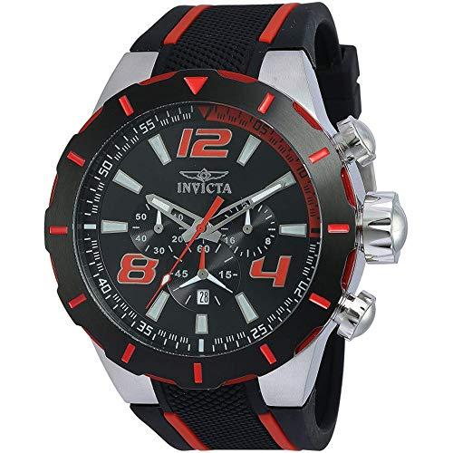 インヴィクタ インビクタ 腕時計 メンズ 20105 Invicta Men's 20105 S1 Rally Stainless Steel Watch With Black PU Bandインヴィクタ インビクタ 腕時計 メンズ 20105