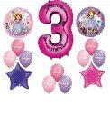 ちいさなプリンセス ソフィア ディズニージュニア Disney's SOFIA THE FIRST THIRD 3RD Happy Birthday PARTY Balloons Decorations Suppliesちいさなプリンセス ソフィア ディズニージュニア